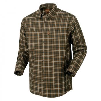 Рубашка HARKILA Milford Shirt цвет Willow green check