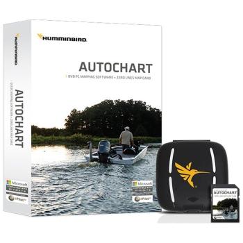 Програмное обеспечение HUMMINBIRD Autochart PC Software SD (не подходит для Helix 5,7) в интернет магазине Rybaki.ru
