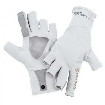 Перчатки SIMMS Solarflex Sunglove цвет Grey