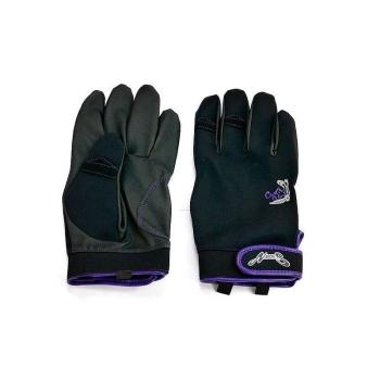 Перчатки NORIES Casting Glove NS-02 цвет Черный / Пурпурный в интернет магазине Rybaki.ru