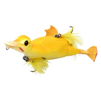 Приманка SAVAGE GEAR 3D Suicide Duck 105 10,5 см 28 гр. цв. 02-Yellow в интернет магазине Rybaki.ru