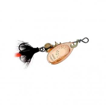 Блесна вращающаяся MEPPS Aglia Fly № 00 цв. Copper / Black Fly