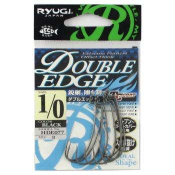Крючок офсетный RYUGI Double Edge № 1 (8 шт.)