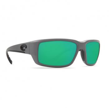 Очки поляризационные COSTA DEL MAR Fantail 580P р. M цв. Matte Gray цв. ст. Green Mirror