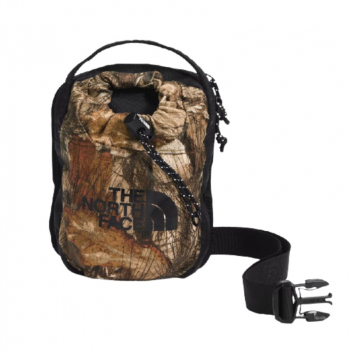 Сумка THE NORTH FACE Bozer Cross Body Bag 2 л цв. Kelp Tan Forest Floor Print / Black