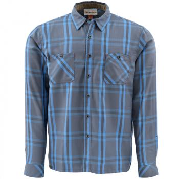 Рубашка SIMMS Black's Ford Flannel цвет Nightfall Plaid