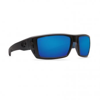 Очки поляризационные COSTA DEL MAR Rafael 580P р. M цв. Black Teak цв. ст. Blue Mirror