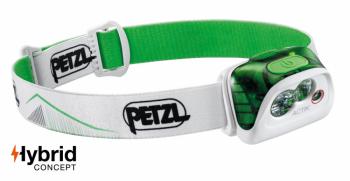 Фонарь налобный PETZL Actik FA цв. зеленый в интернет магазине Rybaki.ru