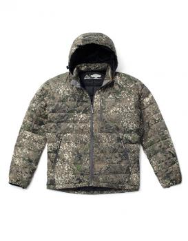 Куртка SKRE Ptarmigan 850 Ultra Down Hoodie цвет MTN Stealth в интернет магазине Rybaki.ru