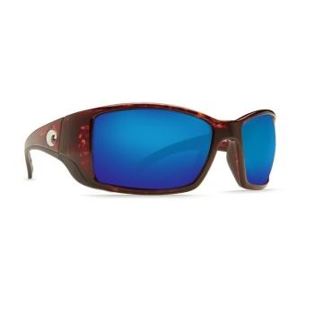 Очки поляризационные COSTA DEL MAR Blackfin 580P р. L цв. Tortoise цв. ст. Blue Mirror