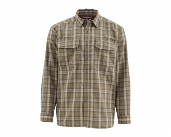 Рубашка SIMMS Coldweather LS Shirt цвет Canteen Plaid