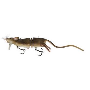 Крыса SAVAGE GEAR 3D Rad 20 см 32 г цв. 01-Brown в интернет магазине Rybaki.ru