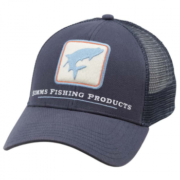 Кепка SIMMS Trout Icon Trucker цв. Admiral Blue