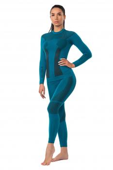 Комплект термобелья V-MOTION F10 женский цвет Изумрудный