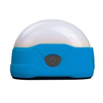 Фонарь кемпинговый FENIX CL20 с батарейками цв. небесно-голубой в интернет магазине Rybaki.ru