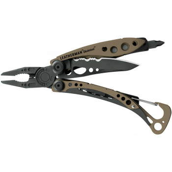 Мультитул LEATHERMAN Skeletool Coyote цв. Coyote в интернет магазине Rybaki.ru