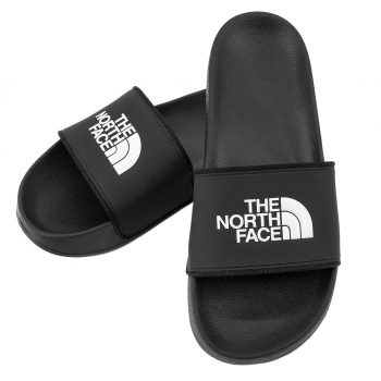Пантолеты THE NORTH FACE Base Camp Slides II цвет черный / белый в интернет магазине Rybaki.ru