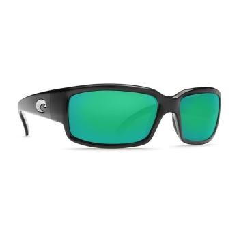 Очки поляризационные COSTA DEL MAR Caballito 580P р. M цв. Black цв. ст. Green Mirror