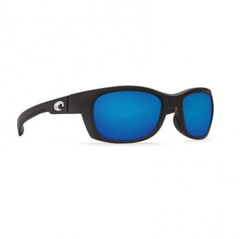 Очки поляризационные COSTA DEL MAR Trevally 580P р. S цв. Matte Black цв. ст. Blue Mirror