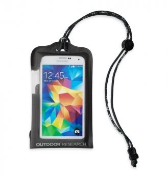 Гермочехол OUTDOOR RESEARCH Sensor Dry Pocket для электроники р. L цв. Charcoal в интернет магазине Rybaki.ru