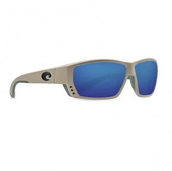 Очки поляризационные COSTA DEL MAR Tuna Alley 580G р. L цв. Sand цв. ст. Blue Mirror