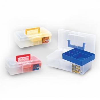 Коробка MEIHO Novelty Box M цв. голубой в интернет магазине Rybaki.ru