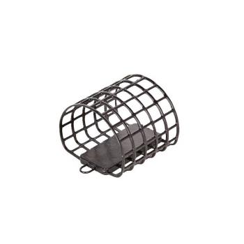 Кормушка-сетка ALLVEGA металлическая Агидель р. L (60 мл) черная 30 гр. в интернет магазине Rybaki.ru