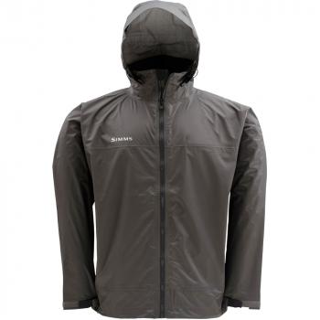 Куртка SIMMS Hyalite Rain Shell цвет Dark Gunmetal в интернет магазине Rybaki.ru
