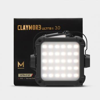 Фонарь кемпинговый CLAYMORE Ultra+ 2M цв. Black