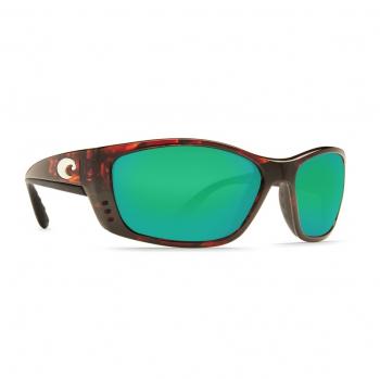Очки поляризационные COSTA DEL MAR Fisch W580 р. XL цв. Tortoise цв. ст. Green Mirror Glass
