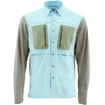 Рубашка SIMMS GT Tricomp Shirt цвет Slate Blue