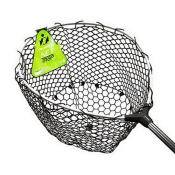 Подсачек TSURIBITO Net TrapTele 140-210 см телескопический c черн. силик. сеткой в интернет магазине Rybaki.ru