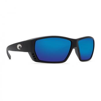 Очки поляризационные COSTA DEL MAR Tuna Alley 580P р. L цв. Matte Black Global Fit цв. ст. Blue Mirror