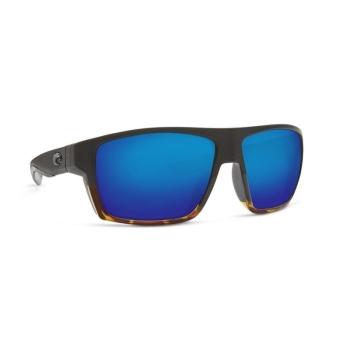 Очки поляризационные COSTA DEL MAR Bloke 580G р. XL цв. Matte Black/Shiny Tortoise цв. ст. Blue Mirror