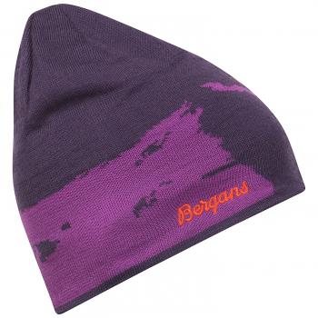 Шапка BERGANS Ski цвет Plum / Pink Rose / Koi Orange