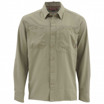 Рубашка SIMMS Ebb Tide SS Shirt цвет Dark Khaki