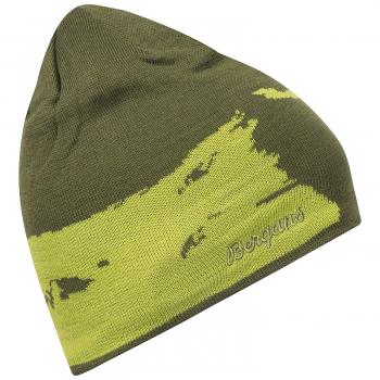 Шапка BERGANS Ski цвет Green Tea / Spring Green / Spring Leaves