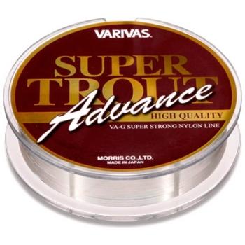 Леска VARIVAS Super Trout Advance High Quality 100 м цв. Серый # 0,5 в интернет магазине Rybaki.ru