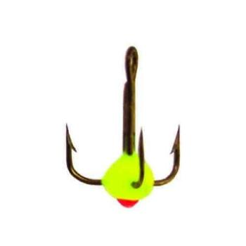 Крючок тройной LUCKY JOHN с каплей код цв. Y № 8