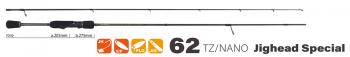Спиннинг YAMAGA Blanks BlueCurrent 62TZ/Nano JH Special тест 0 - 3 г в интернет магазине Rybaki.ru