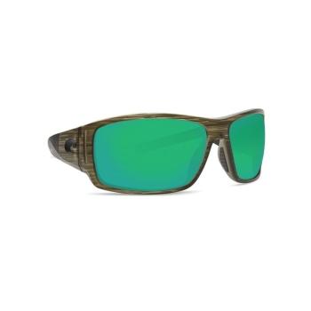 Очки поляризационные COSTA DEL MAR Cape 580P р. XL цв. Bowfin цв. ст. Green Mirror