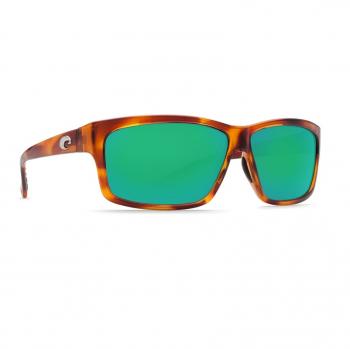 Очки поляризационные COSTA DEL MAR Cut 580P р. L цв. Honey Tortoise цв. ст. Green Mirror