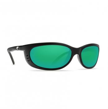 Очки поляризационные COSTA DEL MAR Fathom W580 р. M цв. Matte Black цв. ст. Green Mirror Glass