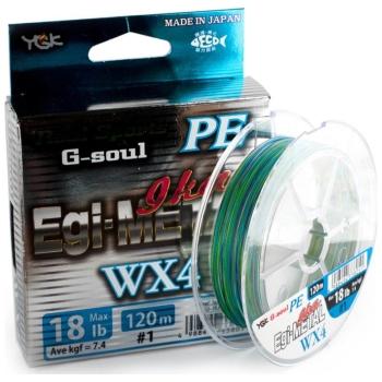 Плетенка YGK Real Sports G-Soul Egi Metal WX4 120 м цв. Многоцветный # 0,8 в интернет магазине Rybaki.ru