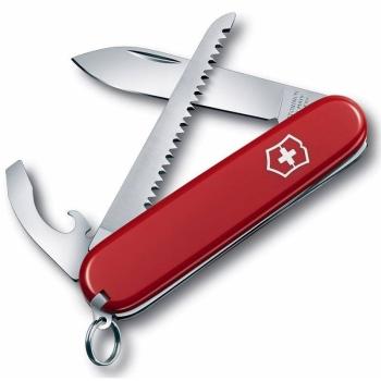 Нож VICTORINOX Walker 84 мм красный, карт.коробка