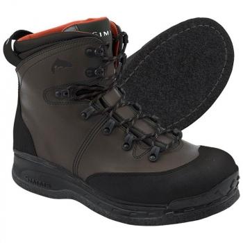 Ботинки забродные SIMMS Freestone Boot Felt цвет Dark Olive в интернет магазине Rybaki.ru