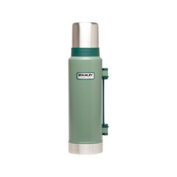Термос STANLEY Classic Vacuum Bottle Hertiage (тепло 28 ч/ холод 28 ч) 1,3 л цв. Зеленый в интернет магазине Rybaki.ru