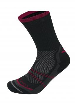 Носки LORPEN TTP Trekking Thermolite цвет Черный / темно-красный