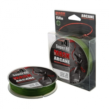 Плетенка AKKOI Mask Arcane 150 м 0,14 мм цв. green в интернет магазине Rybaki.ru