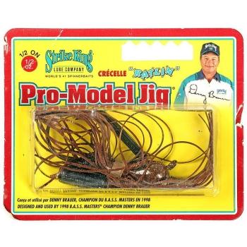 Бактейл STRIKE KING Pro-Model Jig 14 г (1/2 oz) цв. chameleon crawfish